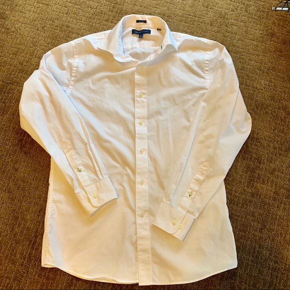 f1815f98 Tommy Hilfiger Shirts | Mens White Dress Shirt Slim Fit | Poshmark